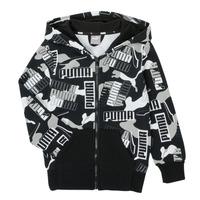 Oblačila Dečki Puloverji Puma ALPHA AOP FZ Črna