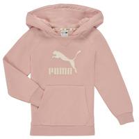 Oblačila Deklice Puloverji Puma T4C HOODIE Rožnata
