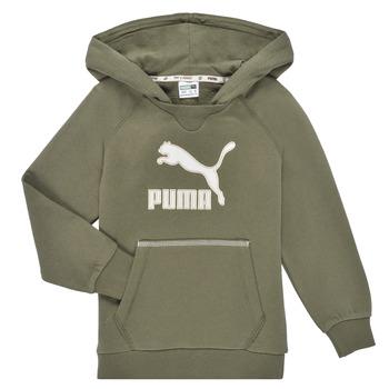 Oblačila Dečki Puloverji Puma T4C HOODIE Kaki
