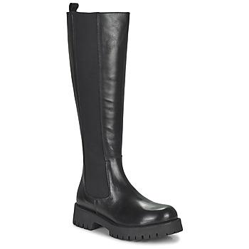Čevlji  Ženske Mestni škornji    Jonak REBEL Črna