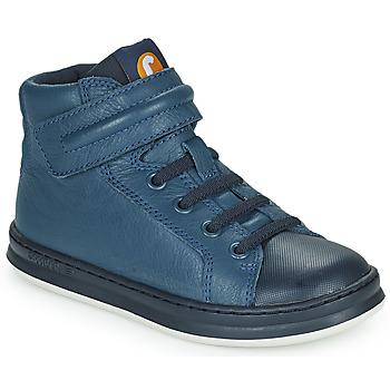 Čevlji  Otroci Visoke superge Camper RUNNER Modra