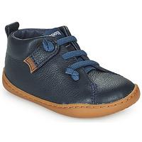 Čevlji  Otroci Čevlji Derby Camper PEU CAMI Modra