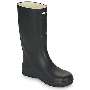 Čevlji  Otroci škornji za dež  Aigle WOODY POP Modra