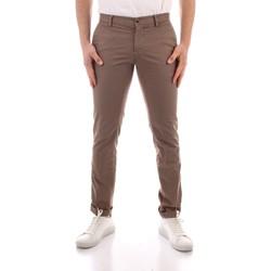 Oblačila Moški Hlače Chino / Carrot Powell CBE412 WHITE