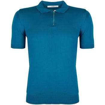 Oblačila Moški Polo majice kratki rokavi Takeshy Kurosawa  Modra