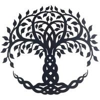 Dom Slike, platna Signes Grimalt Wall Drevo Ornament Negro