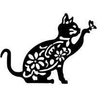 Dom Slike, platna Signes Grimalt Stenski Okras Cat Negro