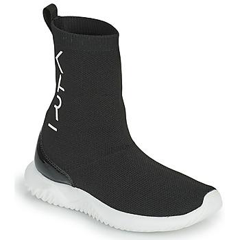 Čevlji  Deklice Visoke superge Karl Lagerfeld HEROS Črna