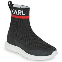 Čevlji  Dečki Visoke superge Karl Lagerfeld PELINDRA Črna