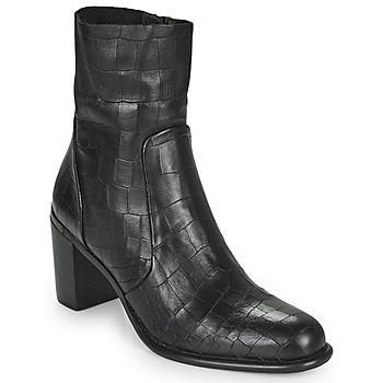 Čevlji  Ženske Mestni škornji    Adige FARA V4 DRAGON BRONZE Črna