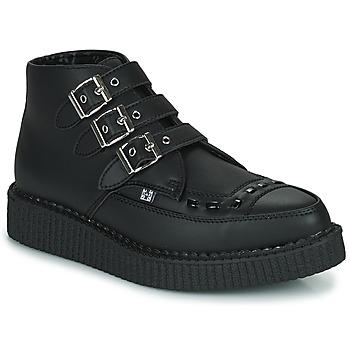 Čevlji  Polškornji TUK POINTED CREEPER 3 BUCKLE BOOT Črna