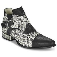 Čevlji  Moški Čevlji Derby New Rock M-NW135-C12 Bela / Črna