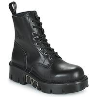 Čevlji  Polškornji New Rock M-MILI084N-S3 Črna
