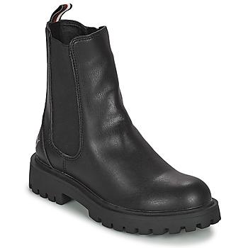 Čevlji  Deklice Polškornji Tommy Hilfiger T3A5-31198-0289999 Črna