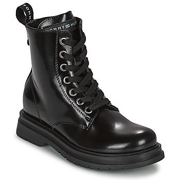 Čevlji  Deklice Polškornji Tommy Hilfiger T4A5-32009-0776999 Modra