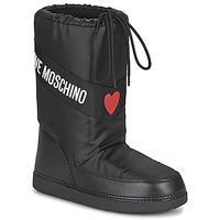Čevlji  Ženske Škornji za sneg Love Moschino JA24032G1D Črna