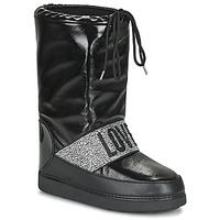 Čevlji  Ženske Škornji za sneg Love Moschino JA24042G1D Črna
