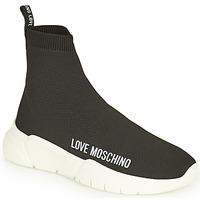 Čevlji  Ženske Visoke superge Love Moschino JA15343G1D Črna