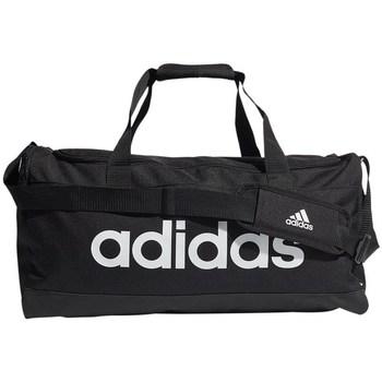 Torbice Športne torbe adidas Originals Linear Duffel M Bela, Črna