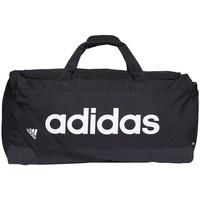 Torbice Športne torbe adidas Originals Linear Duffel L Črna