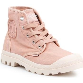 Čevlji  Ženske Visoke superge Palladium Manufacture US Pampa HI Roza