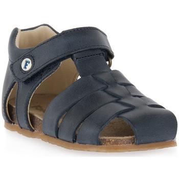 Čevlji  Dečki Sandali & Odprti čevlji Naturino FALCOTTO 0C01 ALBY BLEU Blu