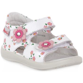 Čevlji  Dečki Sandali & Odprti čevlji Naturino FALCOTTO 0N01 BESENVAL WHITE Bianco