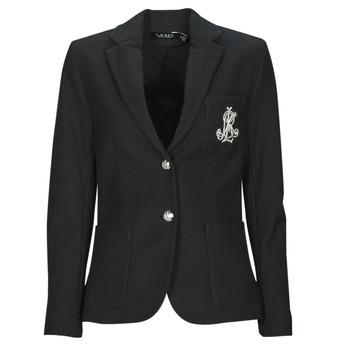 Oblačila Ženske Jakne & Blazerji Lauren Ralph Lauren ANFISA-LINED-JACKET Črna