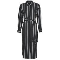 Oblačila Ženske Dolge obleke Lauren Ralph Lauren RYNETTA-LONG SLEEVE-CASUAL DRESS Črna