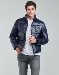 Oblačila Moški Puhovke Armani Exchange 8NZBP3 Modra