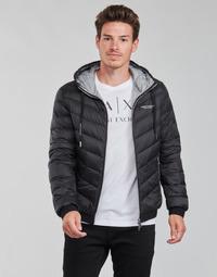 Oblačila Moški Puhovke Armani Exchange 8NZB53 Črna