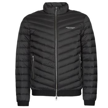 Oblačila Moški Puhovke Armani Exchange 8NZB52 Črna