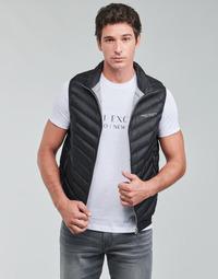 Oblačila Moški Puhovke Armani Exchange 8NZQ52 Črna
