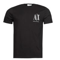 Oblačila Moški Majice s kratkimi rokavi Armani Exchange 8NZTPH Črna