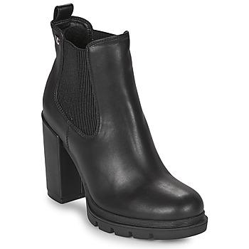 Čevlji  Ženske Gležnjarji Gioseppo TINDOUF Črna