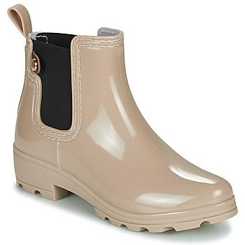 Čevlji  Ženske škornji za dež  Gioseppo 40841 Nude