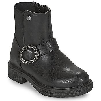 Čevlji  Deklice Polškornji Gioseppo LONTZEN Črna
