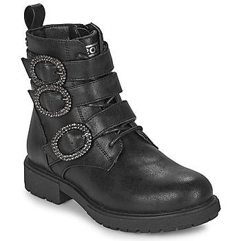 Čevlji  Deklice Polškornji Gioseppo GOUVY Črna