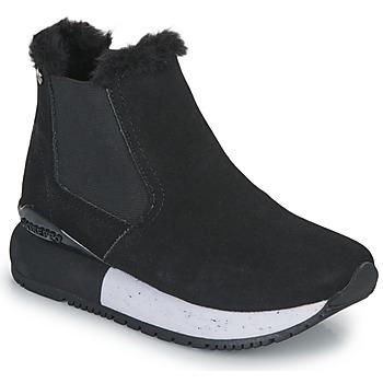 Čevlji  Deklice Visoke superge Gioseppo NORDEN Črna