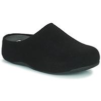 Čevlji  Ženske Cokli FitFlop SHUV FELT Črna