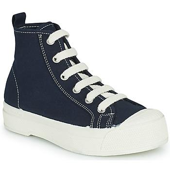 Čevlji  Otroci Visoke superge Bensimon STELLA B79 ENFANT Modra