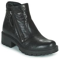Čevlji  Ženske Mestni škornji    IgI&CO DONNA GIANNA Črna
