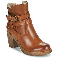 Čevlji  Ženske Gležnjarji Refresh 78969 Kamel