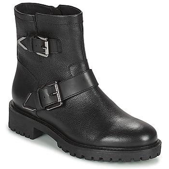 Čevlji  Ženske Gležnjarji Geox HOARA Črna