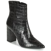 Čevlji  Ženske Gležnjarji Geox BIGLIANA Črna