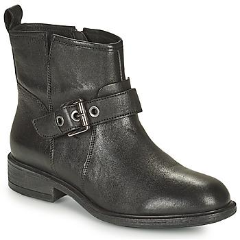 Čevlji  Ženske Gležnjarji Geox CATRIA Bež