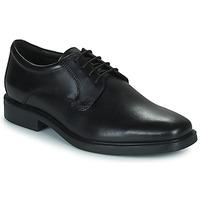 Čevlji  Moški Čevlji Derby Geox BRANDOLF Črna