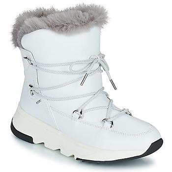 Čevlji  Ženske Škornji za sneg Geox FALENA ABX Bela