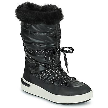 Čevlji  Ženske Škornji za sneg Geox DALYLA ABX Črna