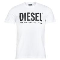 Oblačila Moški Majice s kratkimi rokavi Diesel T-DIEGOS-ECOLOGO Bela